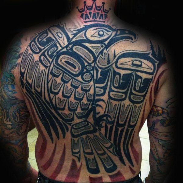 70 Haida Tattoo Designs For Men Tribal Ink Ideas Inuit