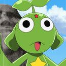 the keroro from the keroro gunso super movie 5 keroro