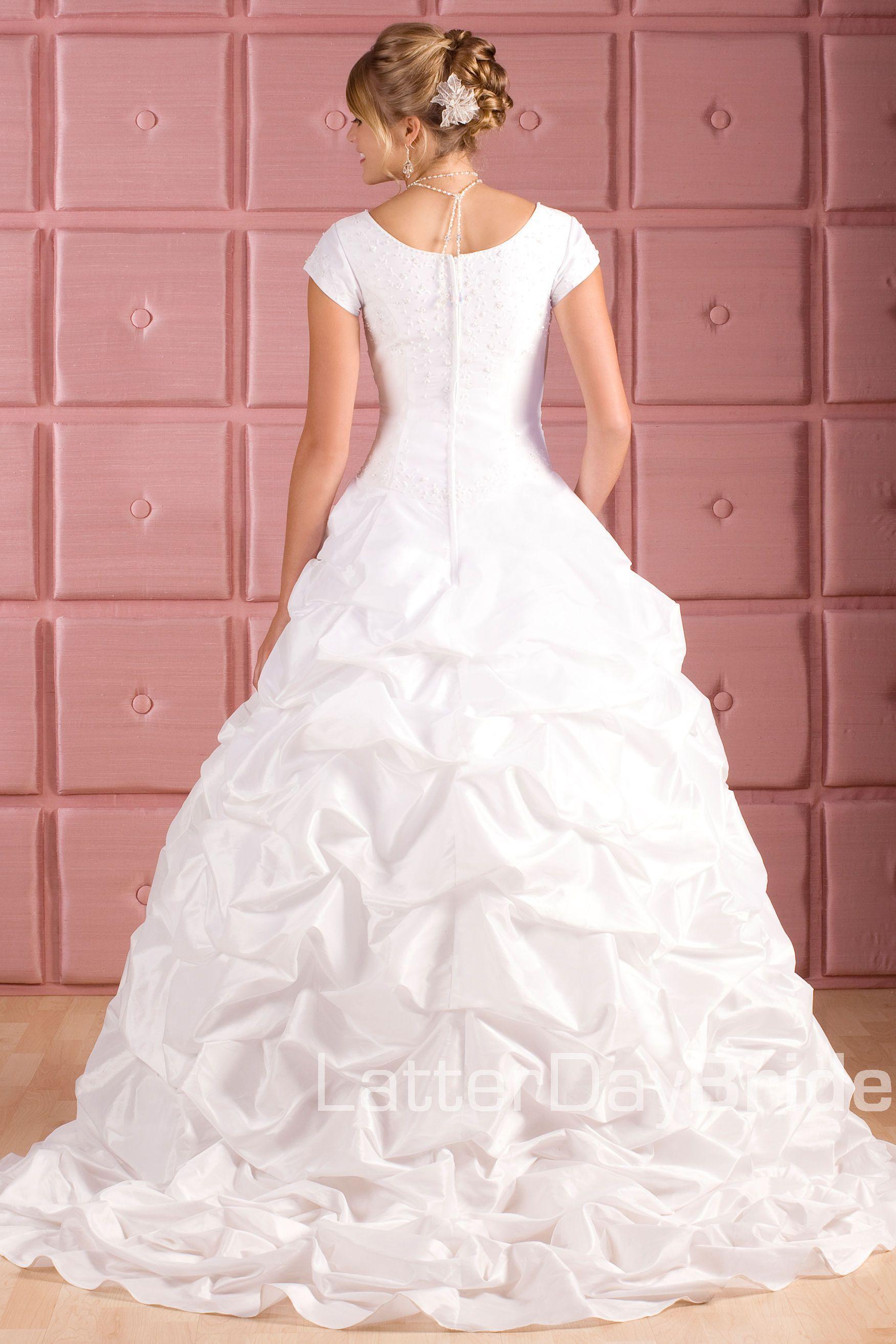 Modest Wedding Dress, Lakewood LatterDayBride & Prom