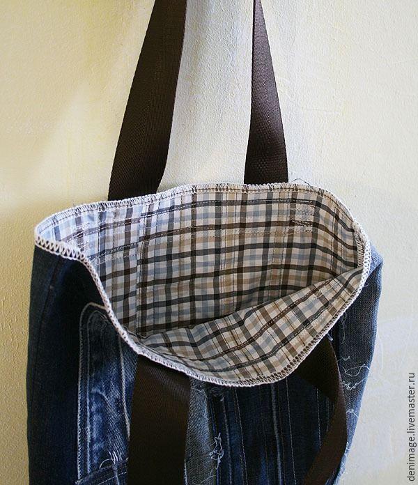 7128db5cddb4 Шьем летнюю сумку из джинсовых поясов - Ярмарка Мастеров - ручная работа,  handmade