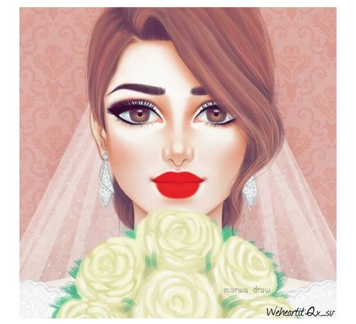 Ayat Alsaeide S Dress Images From The Web Girly Art Girly Drawings Sarra Art
