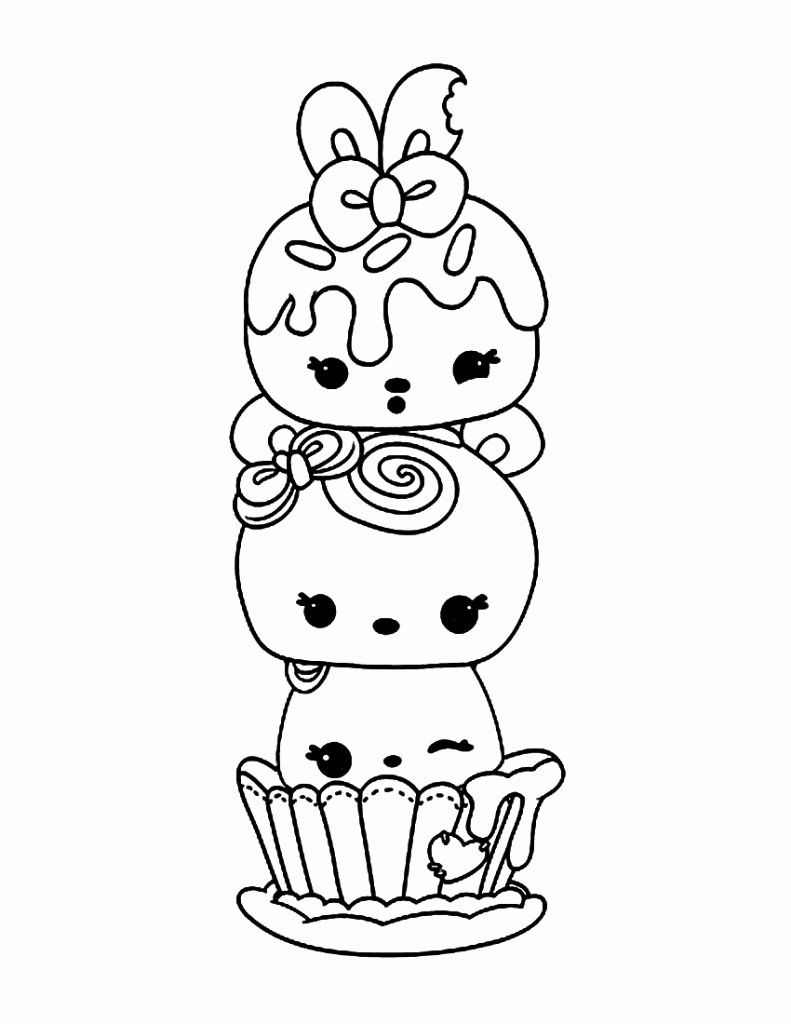 31 Num Noms Coloring Page In 2020 Bear Coloring Pages Coloring
