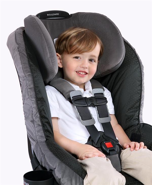 The Britax Boulevard Car Seat Achieves Revolutionary Head Safety