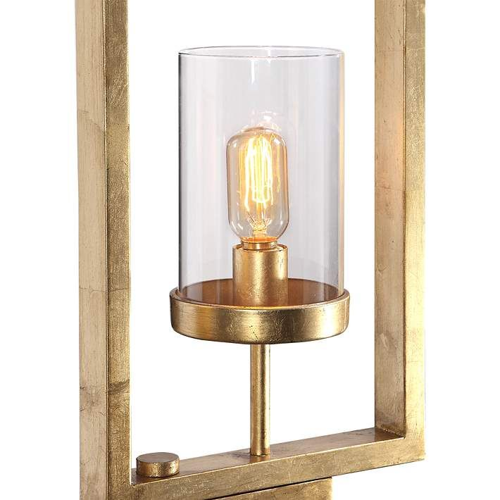 Uttermost Cielo Antique Gold Leaf 3 Light Floor Lamp 66f29 Lamps Plus In 2020 Floor Lamp Floor Lights Three Light Floor Lamp
