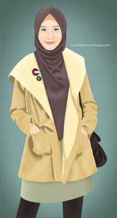 Smile, it's sunnah... #Alif by hamzahinsancita.deviantart.com on @DeviantArt