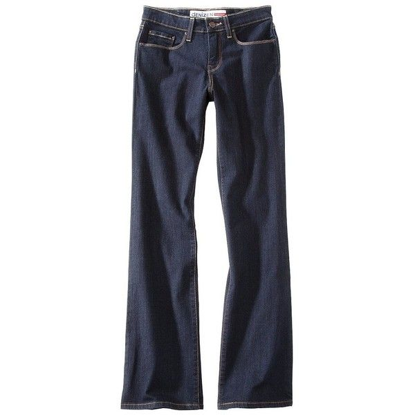 Denizen From Levis® Women's Totally Shaping Fashion Pocket Mid Rise... ($28) found on Polyvore