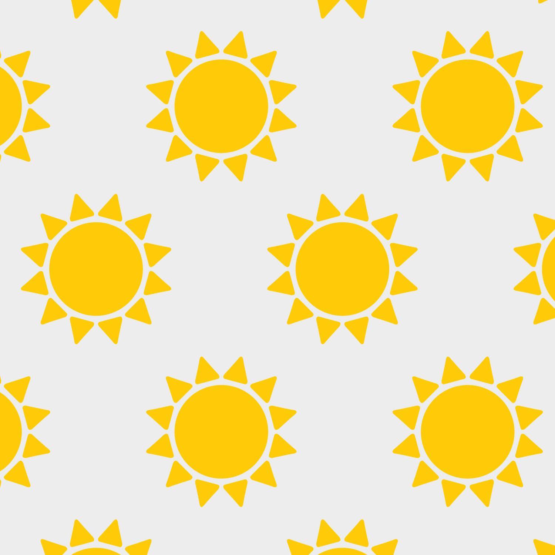 Sun | Stencil for Home Decor. Size: S, M, L. DIY. Walls, fabric ...