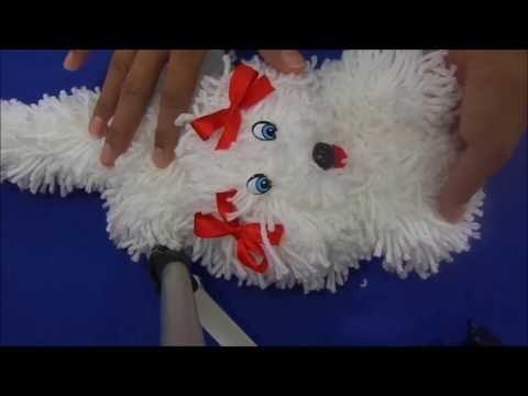 COMO FAZER BONECA DE LÃ - YouTube Yarn Dolls 2e1f3da7310