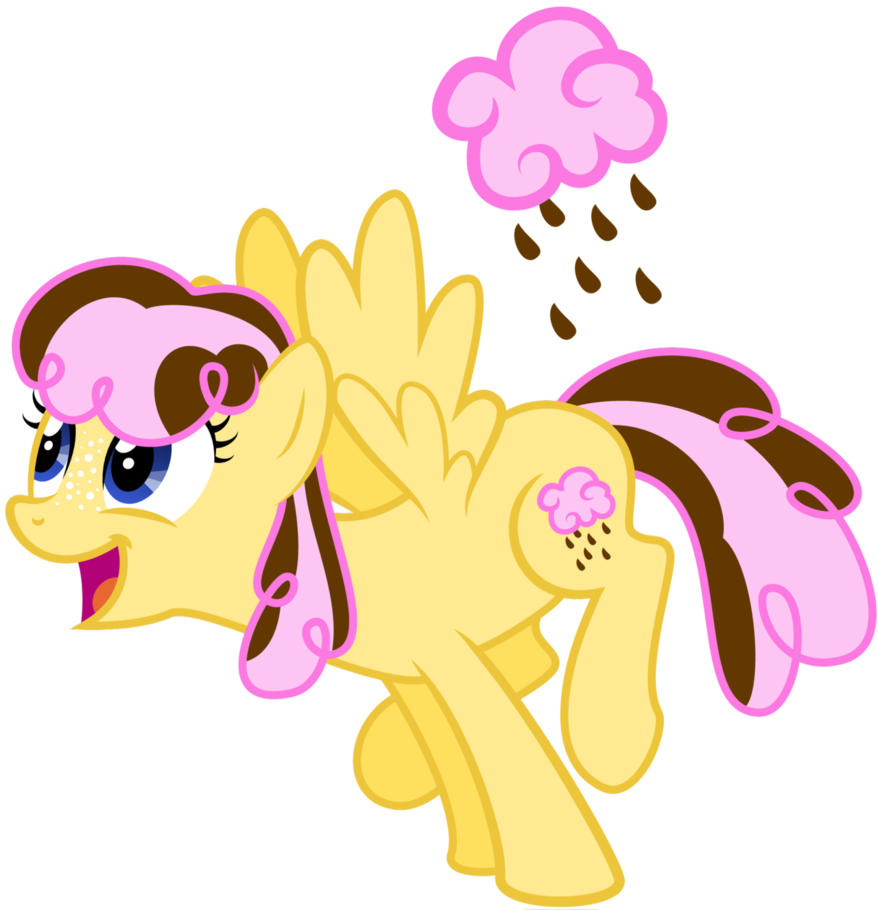 Cotton candy-Chocolate rain it's Pinkies' BFF | Fan Created MLP's ...
