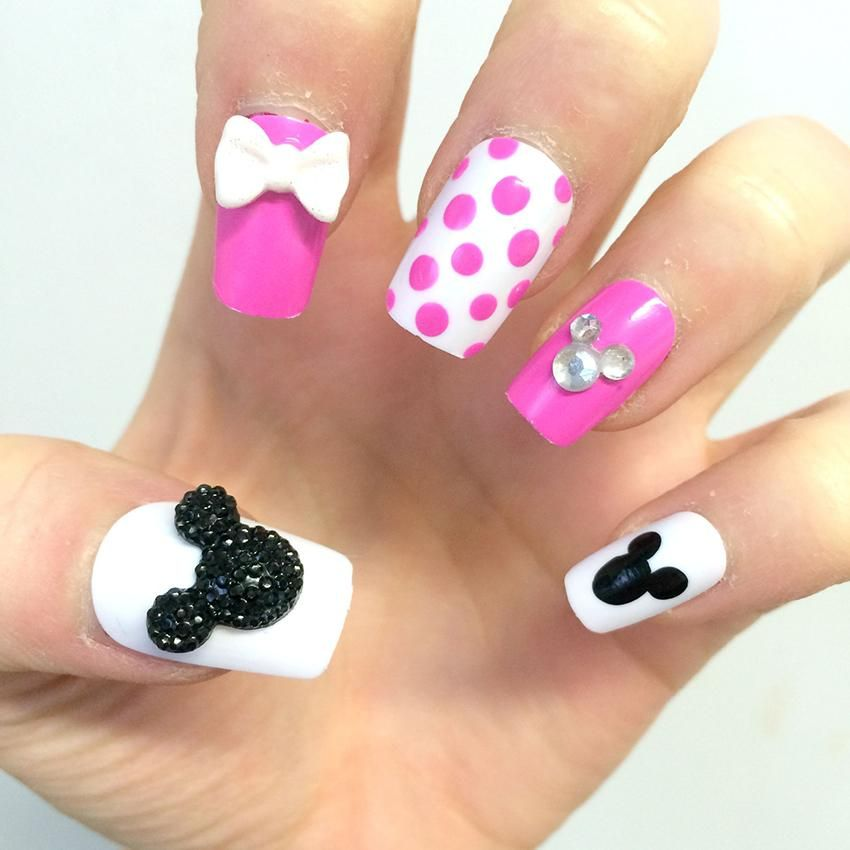 minnie's mose nail designs - Google Search - Minnie's Mose Nail Designs - Google Search Nail Art Pinterest