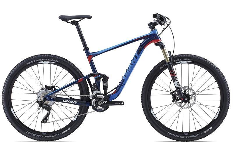Giant Anthem X1 27 5 2015 Lightweight Aluxx Sl Grade Aluminium Frame With 4 Inches Of Smooth Maestro Suspension Fox Fl Giant Bicycles Bike Magazine Giant Bikes