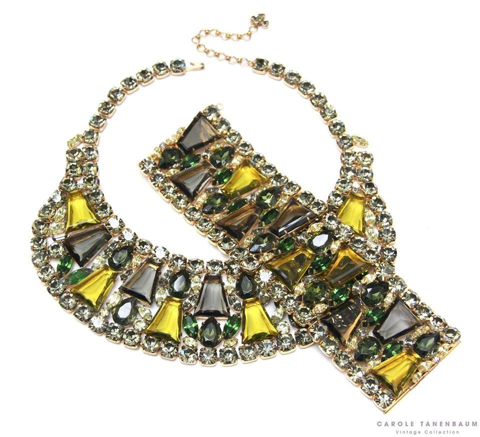 Beautiful Juliana Demi, 1960s  #juliana #dande #vintagecostumejewelry