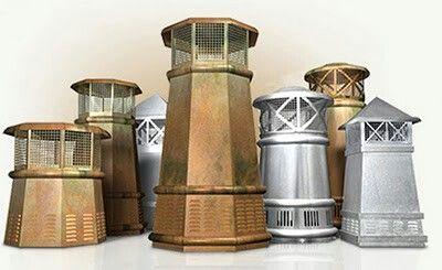 Best Chimney Pots Metal Roof Wood Splitter Wood Cradle 400 x 300