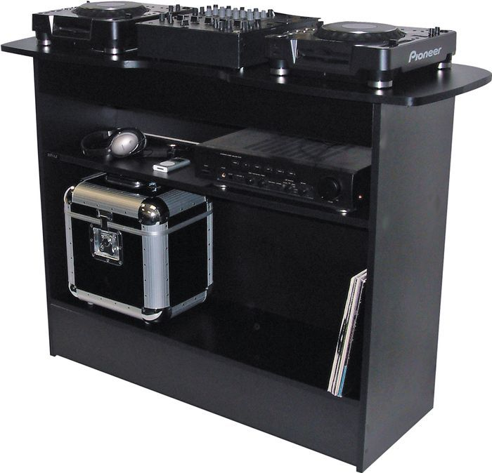"""Sefour XS100 DJ Stand set up in the basement """"studio"""""""