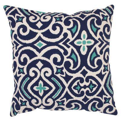Charlton Home Mccrudden Damask Throw Pillow & Reviews | Wayfair