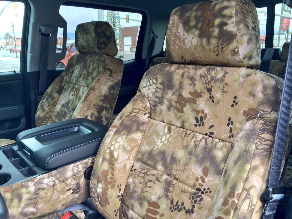 Phenomenal 2015 Gmc Sierra 1500 Crew Cab Kryptec Hylander Camo Seat Caraccident5 Cool Chair Designs And Ideas Caraccident5Info