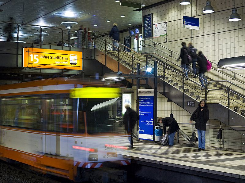 Bielefeld stadtbahn or ustrab Metros Undergrounds and Subways