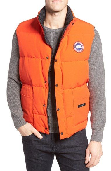 Canada Goose 'Freestyle' Water Resistant Regular Fit Down Vest available at #Nordstrom