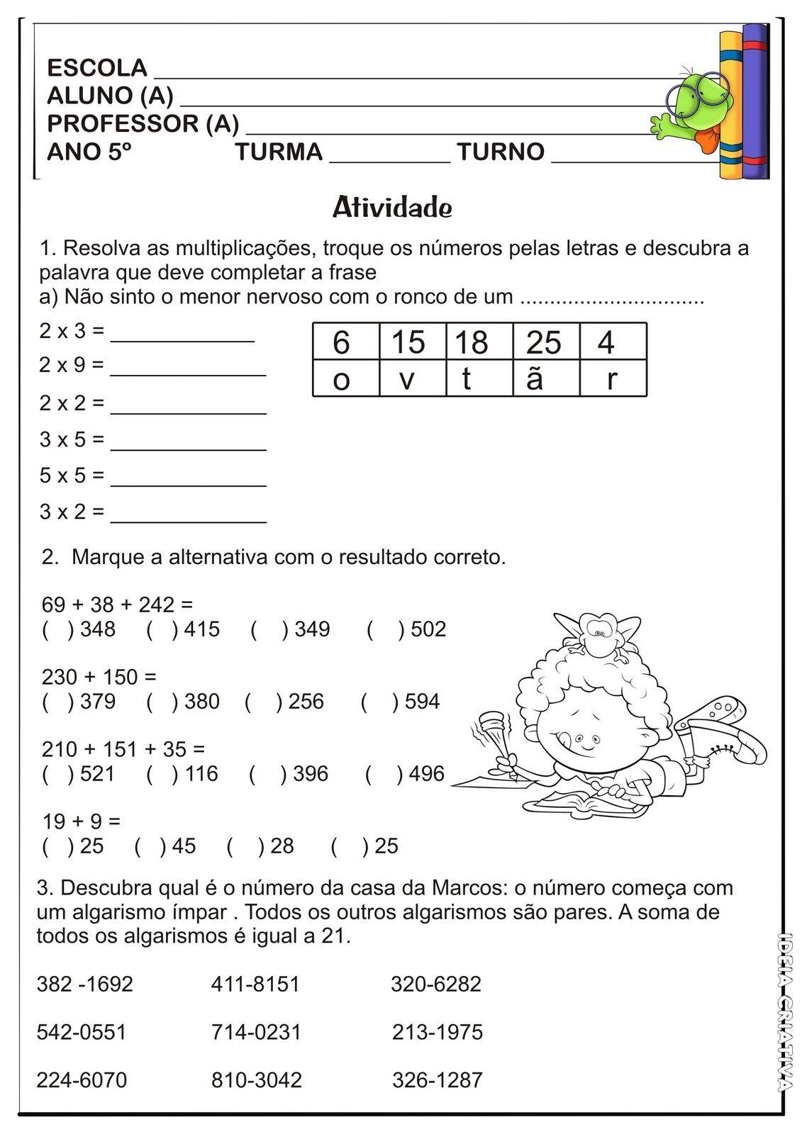59 Jpg 1131 1600 Atividades De Matematica Atividades De