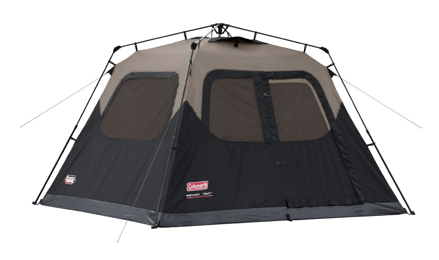 Coleman 4 Person Instant C&ing Hiking Weatherproof Tent New  sc 1 st  Pinterest & The Coleman 6 Person Instant Tent takes out this fear since it can ...