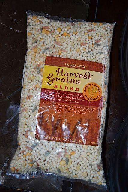 Lea's Cooking: Trader Joe's Harvest Grains Blend