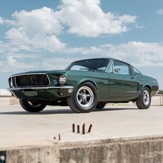 Gas Monkey Garage's Ford Mustang Bullitt #gasmonkeygarage