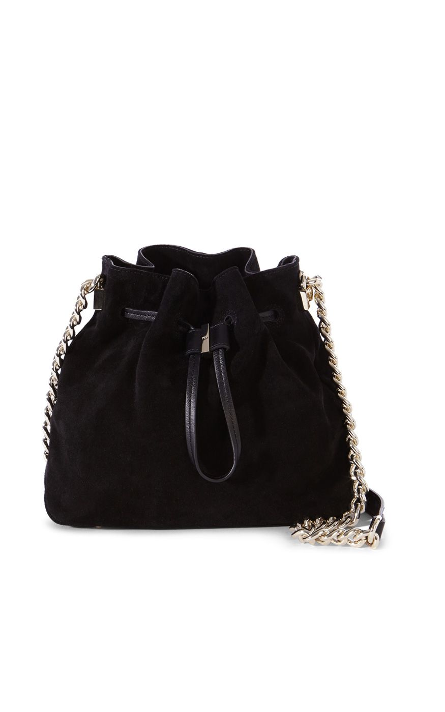 68d48ed520ae SUEDE DRAWSTRING TOTE
