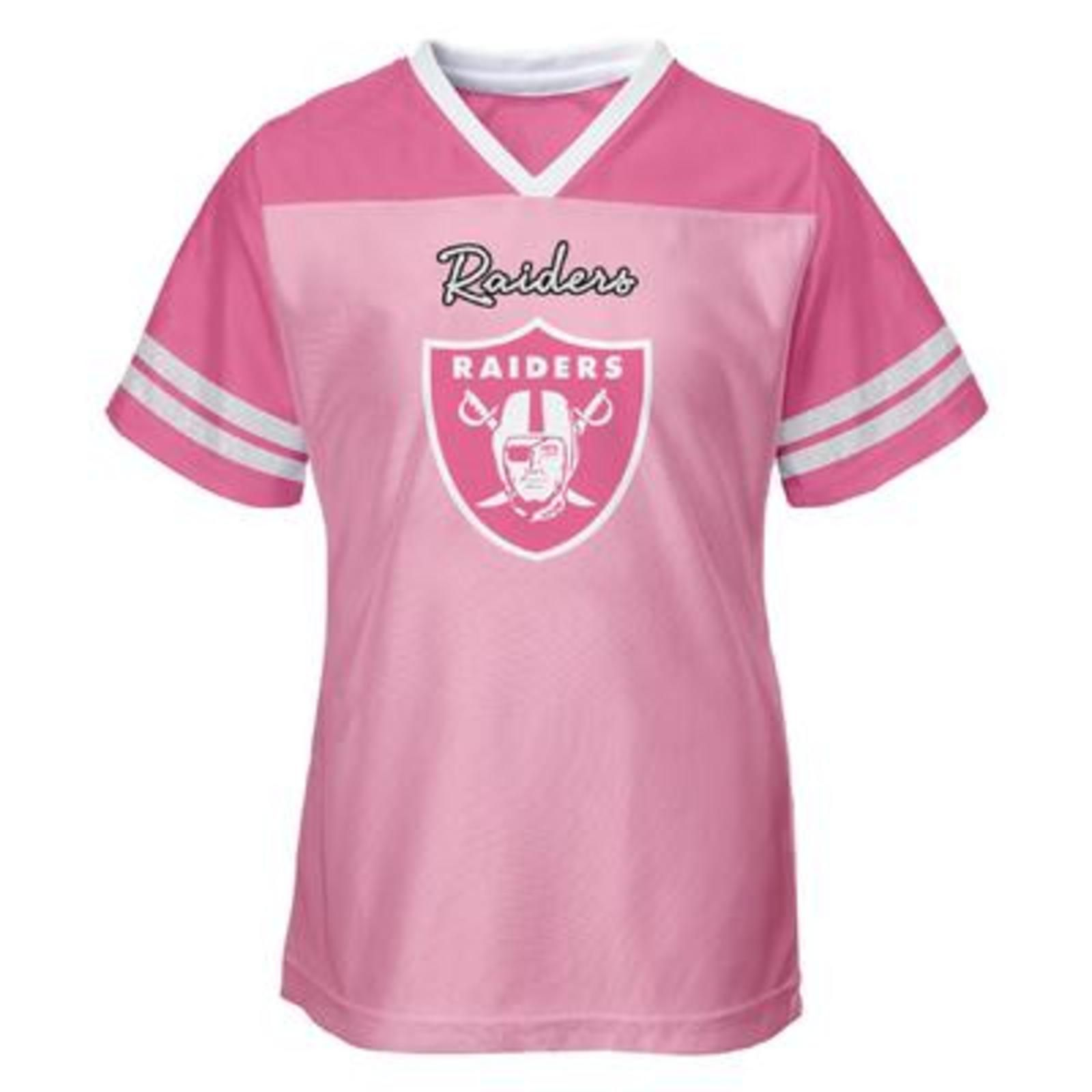 NFL Toddler Girls  Jersey Shirt - Oakland Raiders a750f0918