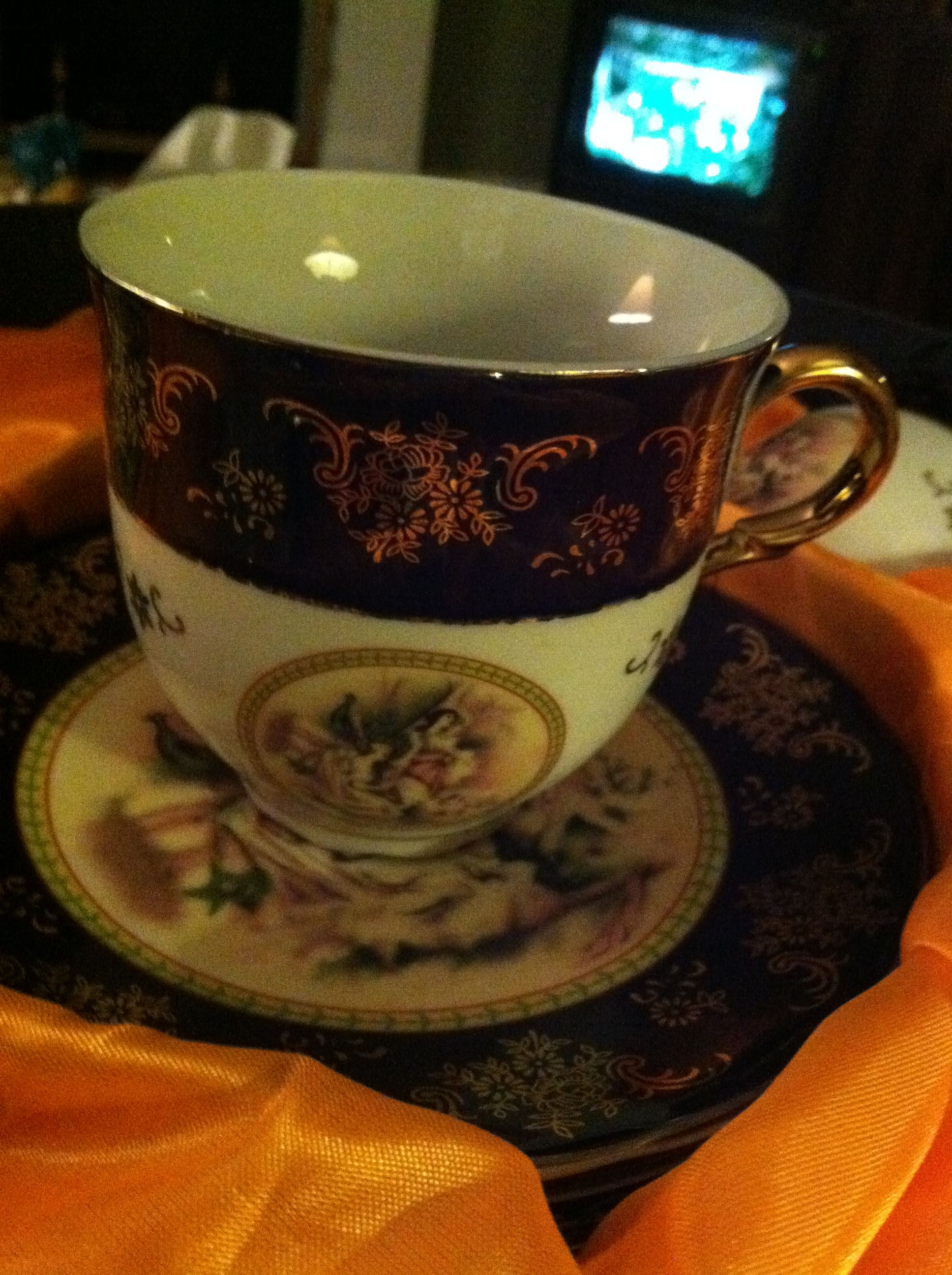 12pcs Tea Cup&Saucer Alpine Cuisine Czech Republic 24k Gold in EzJac's Garage Sale in Bridgeview , IL for $160.00.