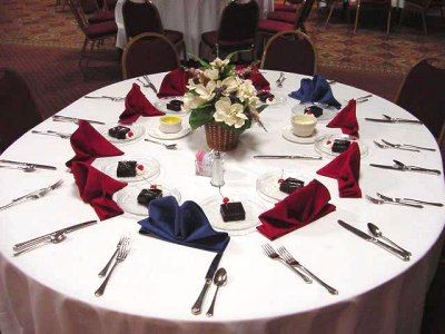 Banquet Table Setting   Cutlery   Birthday Party Ideas   Pinterest ...