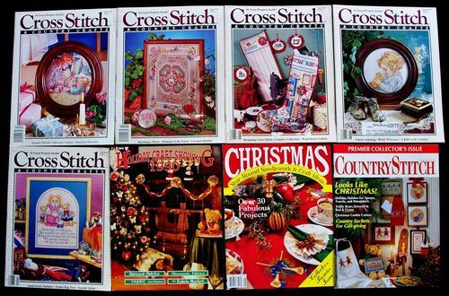 Lot/Set 1989 Cross Stitch & Country Crafts Magazines Country Stitch | eBay