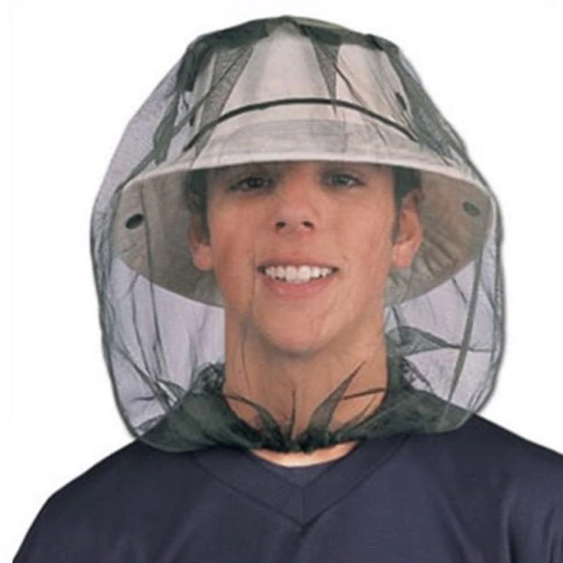 Creative Outdoor Fishing Hat Camping Protector Hat In 2020 Bug Hats Insect Mesh Mosquito Bug