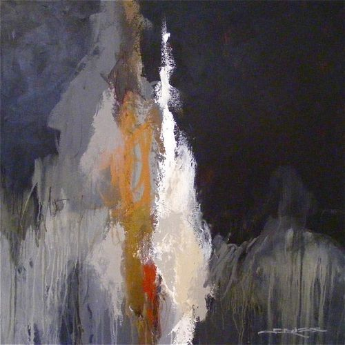 """""""Black Sea Salt"""", 40 x 40"""", mm/c"""