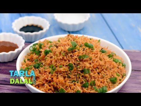 Schezuan fried rice by tarla dalal youtube youtube vegetable schezuan fried rice by tarla dalal youtube ccuart Choice Image