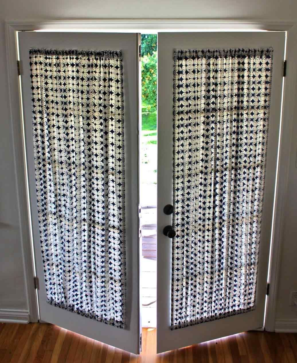 14 Diy Panel Blinds Ideas Diy Project French Door Curtains