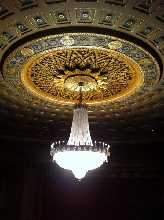 Chandelier At The Eastman Theatre, Rochester NY