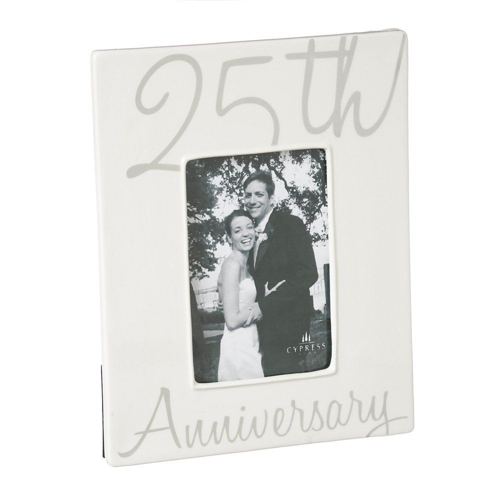 Cypress Home 25th Anniversary 4x6 Ceramic Picture Frame *** Continue ...