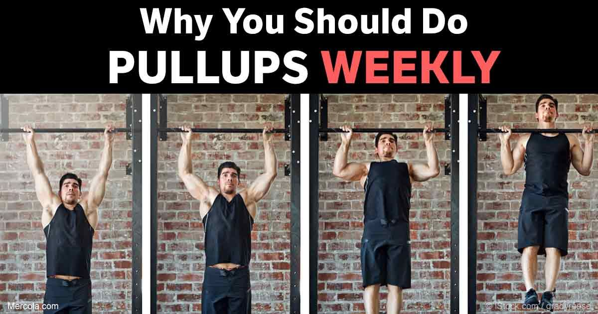 Why Pullups Should Be Part of Your Weekly Exercise