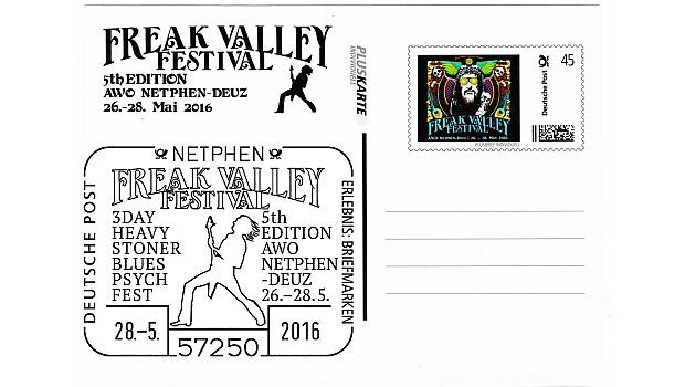 Briefmarkenfreunde beim Rockfestival (mit Bildern