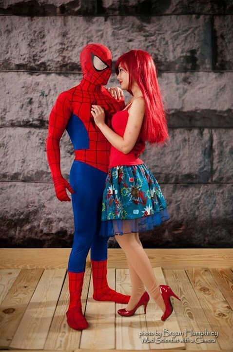 spiderman and mary jane watson #cosplay #couples # ...