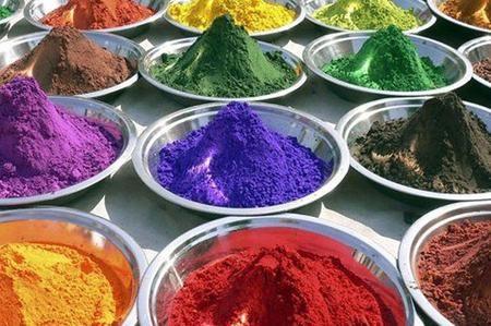 Pigmenti naturali per dipingere
