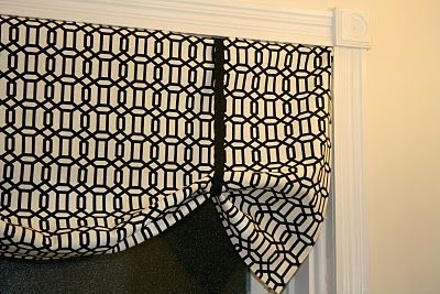 no sew curtain guide