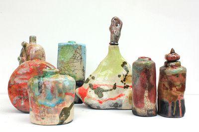 Georgia Harvey Contemporary Ceramics Ceramics Bottle Vase