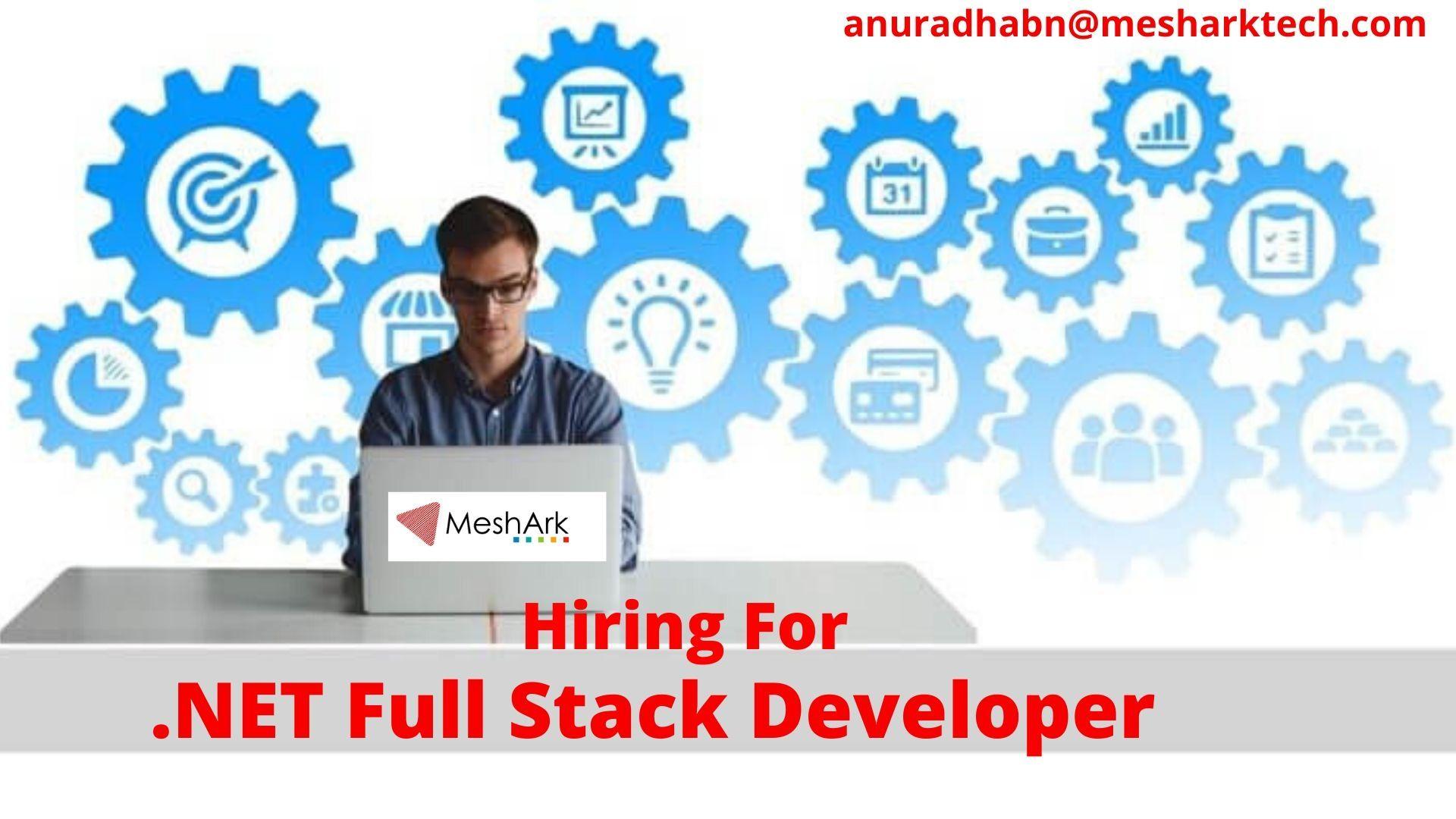 Hiring for Full Stack Developer MeshArk Software