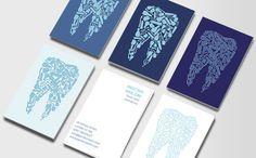 Artistic dental business cards. | עסקי | Pinterest | Dentists ...