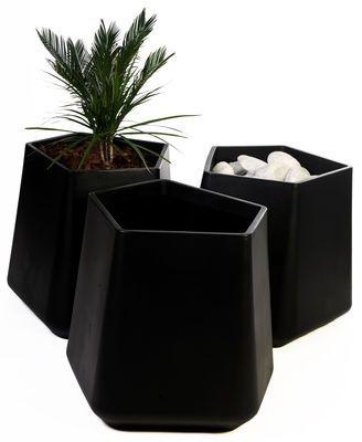 Pot de fleurs Rock Garden Qui est Paul ? - Noir | Made In ...