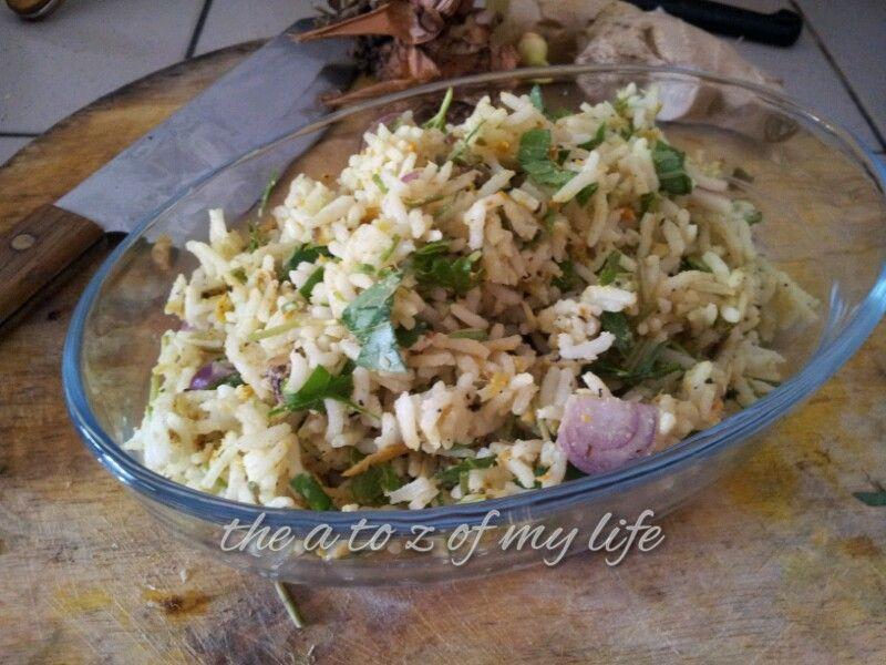 resepi berpantang nasi ulam ringkas asian recipes food good food Resepi Nasi Uduk Sambal Kacang Enak dan Mudah