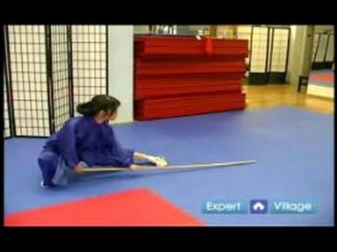 Advanced Wushu Techniques : The Wushu Pu Bo Smash with Staff - YouTube