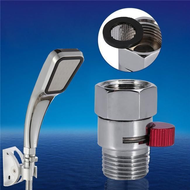G1 2 Quick Control Water Flow Shower Head Shut Off Valve For