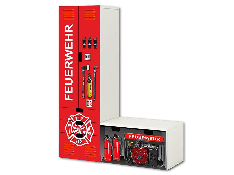Feuerwehr Aufkleber Set Sl20 Passend Fur Die Kinderzimmer Aufbewahrungskombination Stuva Von Ikea L Form Bestehend Aus Schrank Kommode Bornevaerelse